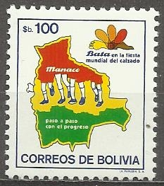 Bolívie N Mi 1021