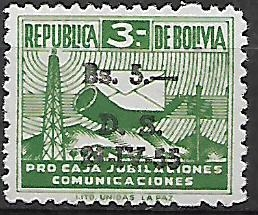 Bolívie N Mi Zs 21